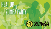 2012 ZUMBA Conference in JAPAN 会場用大判タペストリーA