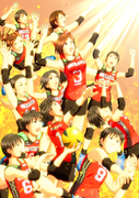 Team JAPAN Women's Vollyball Rio Olympic 2016