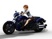JKとバイク2