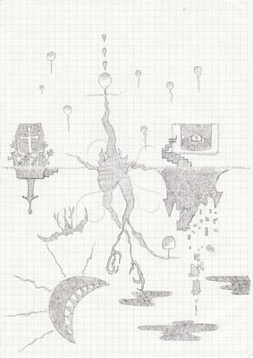 幻想的な世界