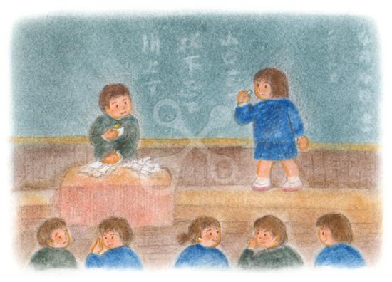 昭和の子供 学級委員選挙