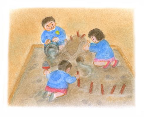 昭和の子供 砂のトンネル