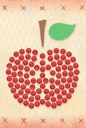 ボタンリンゴ