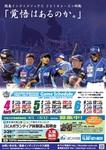 四国アイランドリーグplus 徳島インディゴソックス2014前期ポスターです。 デザインとコピーライティングを担当。