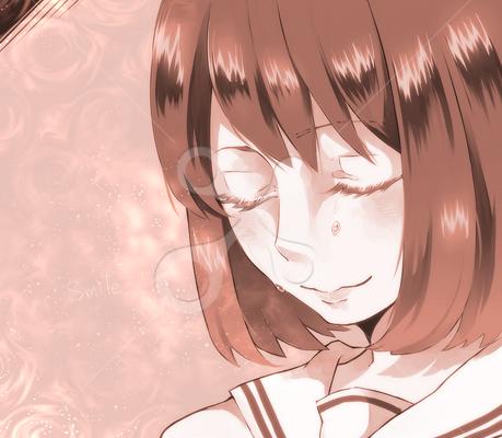 Smile 10代女のイラスト ファーストマテリアル