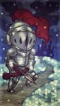 ゲームアプリのトップ画のイメージで制作致しました。