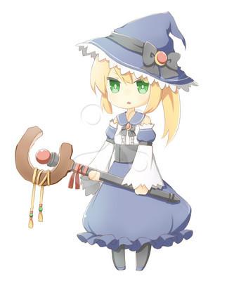 魔法使い・女の子