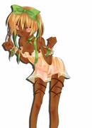 擬人化/チョコレートケーキの女の子