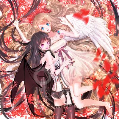 天使と悪魔 10代女のイラスト Skillots