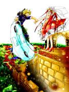 ある姫と平民とのワンシーン