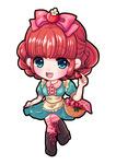 苺をイメージしたオリジナルキャラクターです。