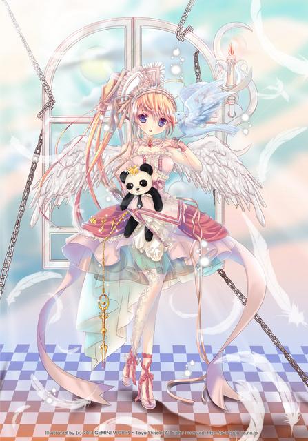 天使&悪魔事典ビジュアルファンブック 通販|セ …