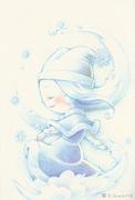 雪の妖精さん