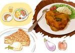 食べ物イラストサンプル