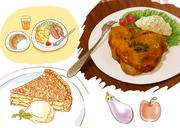 食べ物サンプル