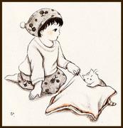 大好きな毛布