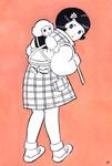 幼女期の思い出。なぜかこういう場合、お人形の名は大抵「メリーちゃん」。