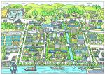 街の未来予想図。
