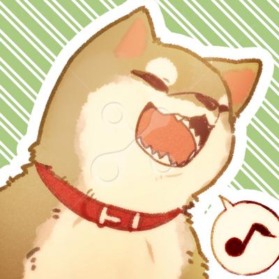 柴犬アイコン かわいいのイラストほ乳類のイラスト Skillots