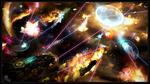 ゲーム「Star Nomad 2」のストーリーアートを制作しました。