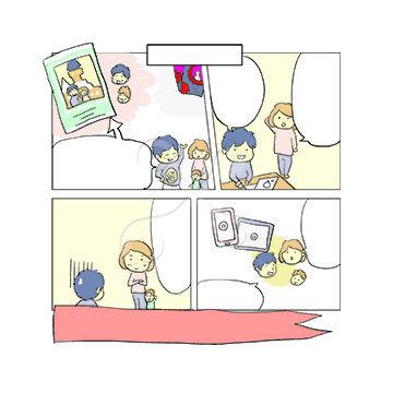 ゆるかわイラスト風漫画 基本 Skillots