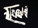 富士山と書き、富士山にみえるように表現。 山は、象形文字「山」を使用。 田口巍嶂のオリジナル・ロゴとして。
