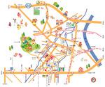 住宅用案内地図。