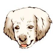 犬イラストサンプル