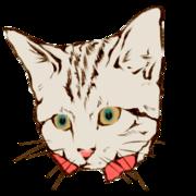 猫イラストサンプル