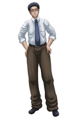 成人男性 立ち絵 中年男のイラスト Skillots