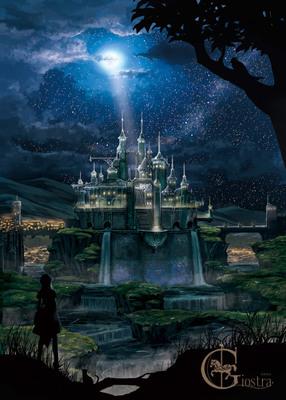 背景イラストサンプル7風景 ゲーム背景のイラスト空想sfの風景