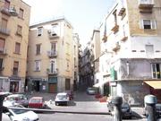 ナポリの町並み