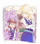 某魔女ッ子アニメのファンアートです。
