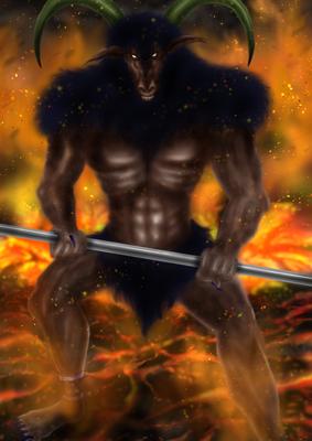 魔物 ゲームキャラクターのイラスト中年男のイラスト Skillots