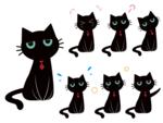 ・総合探偵社ガルエージェンシー様 探偵様の助手的な立場となる黒猫のマスコットキャラクターをデザインさせていただきました。  ◇使用ソフト◇ Adobe illustrator CC2017  ◇製作時間◇ 約6.5時間
