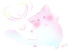 ふわふわの可愛いネコが踊りを披露してます。