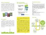 会社案内容パンフレット内面です。図、イラストなども承りました
