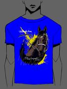 JRA宝塚記念のキャンペーン用馬Tシャツ