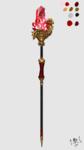 ゲームでつかう主人公が使う杖