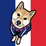 柴犬の似顔絵アイコンを制作しました。