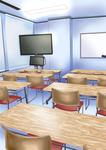 学校教室です。