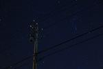 月がない夜に綺麗な星空が撮れました。