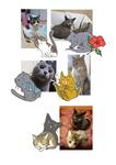 ペットの似顔絵企画の際の成果物