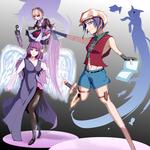 ソーシャルゲームを想定したキャラクターデザインサンプルです。制作の参考にして下さい。