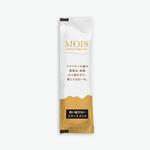 ホテルアメニティの洗い流さないリンスという製品。 既存パッケージ形状へのアルミの色を利用したゴールドカラーによるラグジュアリーなデザイン。
