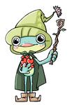 絵本コンペ作品です。 カエルをモチーフにたくさんのハートを抱えた可愛らしいイラスト。