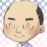 SNSで使うアイコンを依頼されて似顔絵をデフォルメ調で描きました。