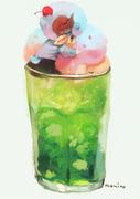 ひつじクリームソーダ