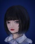 似顔絵を描かせて頂きました。 この程度のイラストは、¥1000〜2500でお受けさせて頂きます。