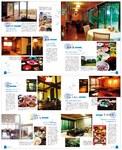 沖縄情報誌編集ページデザインです。